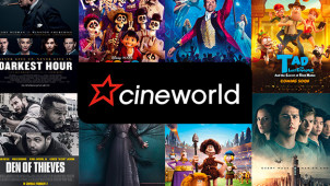 Gift Cards from €10 at Cineworld