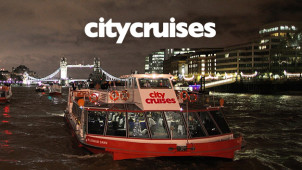 20% Off London Attraction Plus River Cruise Bookings at City Cruises