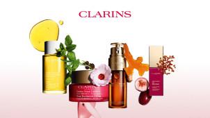 25% korting + Gratis gift op alle bestellingen vanaf €90 bij Clarins