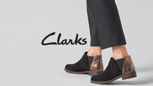 30% Off Selected Adult Styles Plus Free Delivery on Orders Over £50 at Clark