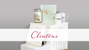 20% Off First Orders Including Cards, Gifts and Stationary at Clintons