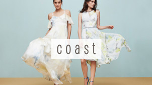 30% Off First Orders at Coast