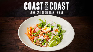 40% Off Mains at Coast to Coast