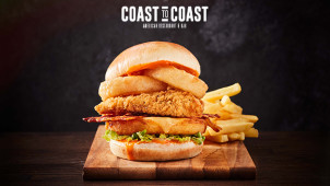 2 for 1 on Starters, Mains & Desserts at Coast to Coast
