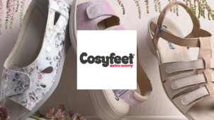 Women's Shoes from £42 at Cosyfeet