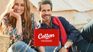 Enjoy 15% Off Orders Over £50 & Free Delivery at Cotton Traders