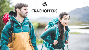 Celebrate this Halloween Outdoors with an Extra 10% Off Outlet Orders at Craghoppers