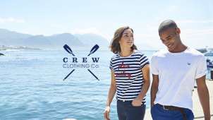 £5 Off Sale Orders Over £75 at Crew Clothing
