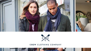 20% Off Orders Plus Free Delivery at Crew Clothing