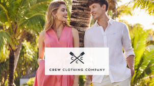 20% Off New Season Orders at Crew Clothing