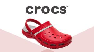 20€ offerts dès 60€ d'achat chez Crocs