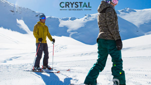 £100 Off 1000's of March 2020 Trips - Save Big on Spring Skiing at Crystal Ski Holidays