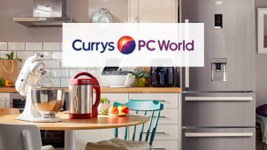 £15 Gift Card with Home Delivery Orders Over £300 at Currys PC World