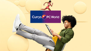 £20 Gift Card with Orders Over £299 at Currys PC World