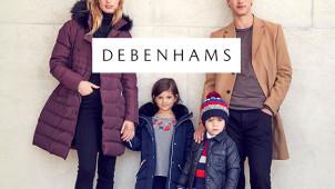 30% Off Coats and Boots at Debenhams