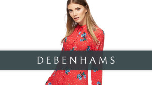 Up to Half Price Mid-Season Sale at Debenhams