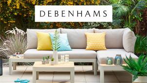 20% Off Fashion and Homeware Orders at Debenhams