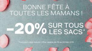 Fête des mères : -20% sur tous les sacs