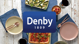 £10 Off Orders Over £100 at Denby