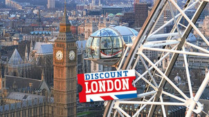 £10 Off Bookings Over £120 at Discount London