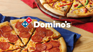 Nationwide: 25% Off Orders Over £30 at Domino's Pizza
