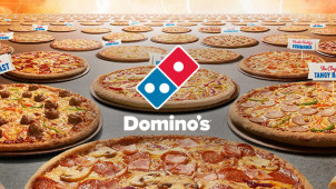 2 Traditional Pizzas + Garlic Bread, 1.25L Drink from $30.95 at Dominos Pizza