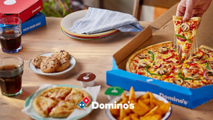 25% Off When You Spend €25 on Pizza at Domino's Pizza