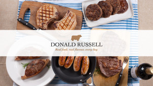 Free £10 Voucher Plus Free Delivery With Newsletter Sign ups at Donald Russell
