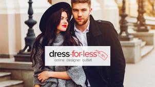 Bis zu 70% Rabatt auf Designer-Marken bei dress-for-less