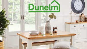 £10 Gift Card with Online Orders Over £100 Plus Up to 30% Off selected lines at Dunelm