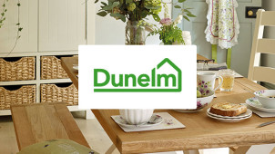 £10 Gift Card with Home Delivery Orders Over £100 Plus Up to 50% Off in the Sale at Dunelm