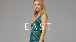 Free Delivery on Orders Over £100 at EAST