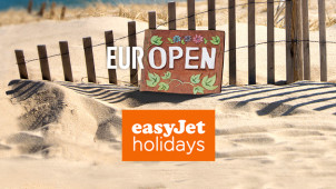£30 Gift Card with Upfront Bookings Over £650  at easyJet Holidays