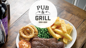 2 Mains for £8.99 at Pub & Grill
