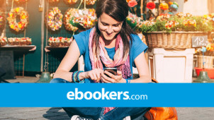 13% Off Selected Flight & Hotel Booking at ebookers.ie