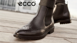 £10 Off First Orders Plus Free Delivery with Newsletter Sign-ups at Ecco