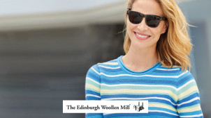 £5 Gift Card with Orders Over £65 at Edinburgh Woollen Mill