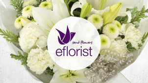 £5 Gift Card with Orders Over £30 at eFlorist
