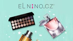 Akční nabídka parfémů a kosmetiky se slevou až -80% od Elnino.cz