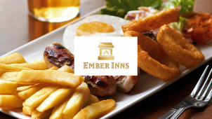 50% Off Mains at Ember Inns