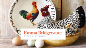 £15 Off Orders Over £75 with Friend Referrals at Emma Bridgewater
