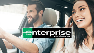 5% Off Selected European Car Hire Bookings at Enterprise