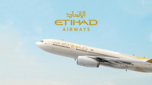 10% Off Flights from the UK at Etihad Airways