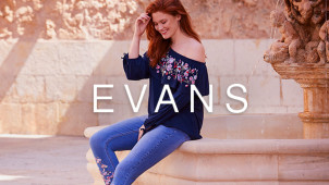 20% Off First Orders with Newsletter Sign Ups at Evans