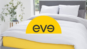 £25 Gift Card with Orders Over £400 at eve Mattress