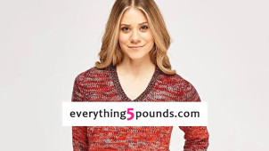 50% Off Selected Items in the Flash Sale at Everything 5 Pounds