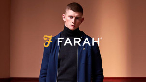 15% Off Orders Over £80 at Farah