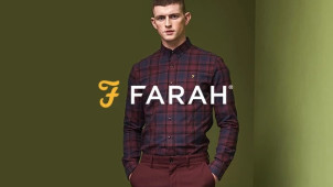 20% Off Orders Over £100 at Farah