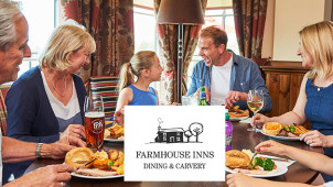 £5 Off Orders Over £20 with Newsletter Sign-ups at Farmhouse Inns