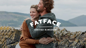 Free Delivery on Orders Over £60 at Fat Face